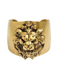 Ela Stone - Metallic Lion Cuff - Lyst