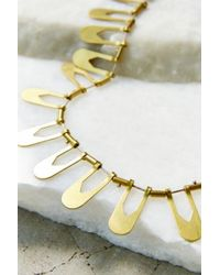 Better Late Than Never - Metallic Aten Collar Necklace - Lyst