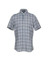 Xacus - Gray Shirt for Men - Lyst