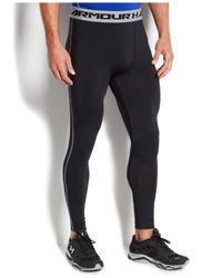 Under Armour - Black Heatgear Armour Compression Tights for Men - Lyst