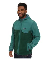 Patagonia - Green Shelled Synch Snap-t Hoodie for Men - Lyst