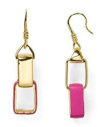 Diane von Furstenberg | Metallic Gabby Double Drop Earrings | Lyst