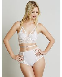 Free People - Pink X For Love And Lemons Womens Belted Daisy Hi Rise - Lyst