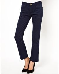 M.i.h Jeans | Blue The Brighton Jean in Navy Twill | Lyst