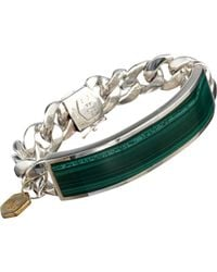 Ann Dexter-Jones | Green Id Bracelet | Lyst