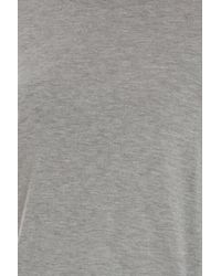 Vince - Gray Drop Arm Top - Lyst