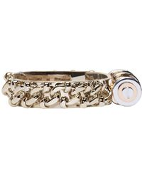 Givenchy | Metallic Brass Obsedia Bar Cuff | Lyst