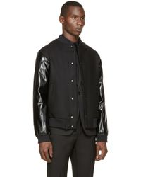 Wanda Nylon | Black Teddy Cooper Bomber Jacket for Men | Lyst