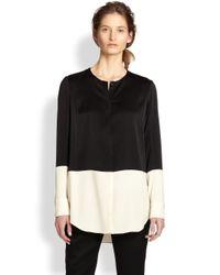 Rag & Bone - Black Shooter Colorblocked Button-Front Shirt - Lyst
