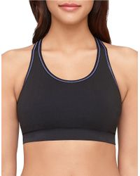 Yummie By Heather Thomson - Blue Chelsea Reversible Sports Bra - Lyst