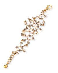 Lulu Frost | Metallic Jackie Web Link Bracelet | Lyst