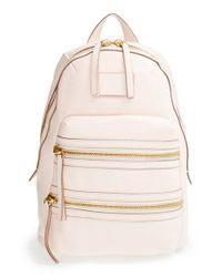 Marc By Marc Jacobs | White 'domo Biker' Leather Backpack | Lyst