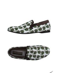 Dolce & Gabbana | White Moccasins for Men | Lyst