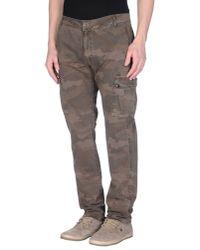 GAUDI | Natural Casual Trouser for Men | Lyst