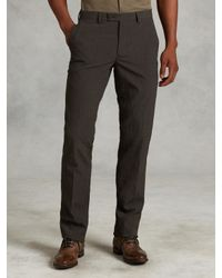 John Varvatos | Green Slim Fit Wool Dress Pant for Men | Lyst