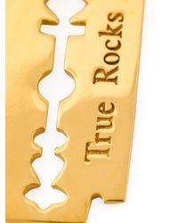 True Rocks | Metallic 'razor Blade' Necklace | Lyst