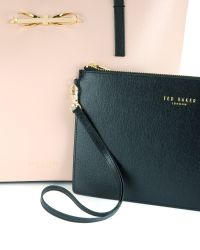 Ted Baker - Brown Crosshatch Leather Shopper - Lyst