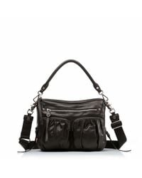 MZ Wallace | Black Leather Bailey | Lyst