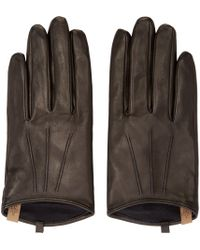 Mackage | Black Leather Touh_screen Alisee Gloves | Lyst