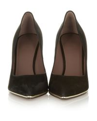 Givenchy | Black Suede Pumps | Lyst