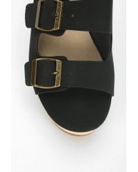 BC Footwear - Black Mayhem Platform Mule - Lyst