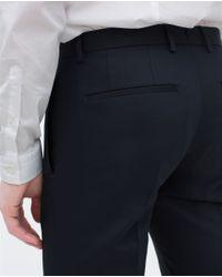 Zara | Blue Comfort Trousers for Men | Lyst