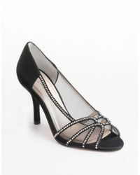 Caparros | Black Horoscope Mesh Satin Pumps | Lyst