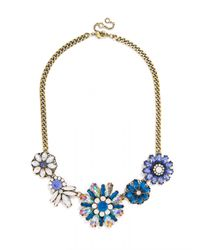 BaubleBar | Crystal Firecracker Strand-Blue/Antique Gold | Lyst