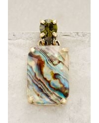 Anthropologie - Green Ormeau Abalone Drops - Lyst