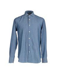 1958 The Sartorialist - Blue Denim Shirt for Men - Lyst
