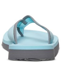 Nike - Blue Women'S Celso Thong Sandals From Finish Line - Lyst