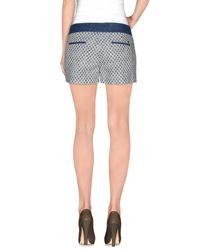19.70 Nineteen Seventy - Blue Shorts - Lyst