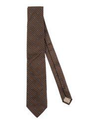 Trussardi | Brown Tie for Men | Lyst