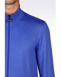 EA7 - Blue Sweatsuit for Men - Lyst