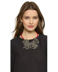 Carven - Red Carven - Nickel - Lyst
