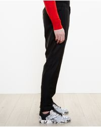 Givenchy - Black Wool Tracksuit Bottoms for Men - Lyst