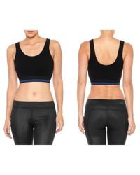 Joe's Jeans | Black Crop Tank | Lyst