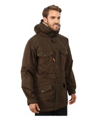 Fjallraven | Green Sarek Winter Jacket for Men | Lyst