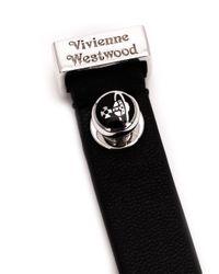 Vivienne Westwood - Black 'Aeron' Cuff - Lyst