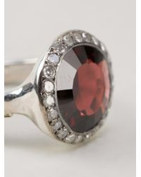 Rosa Maria | Red 'julia' Ring | Lyst