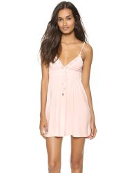 Juicy Couture | Pink Sleep Essential Nightgown | Lyst