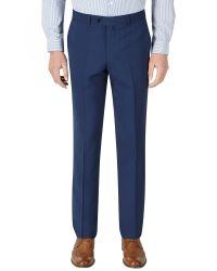 Skopes - Blue Piero Plain Tailored Fit Suit Trousers for Men - Lyst