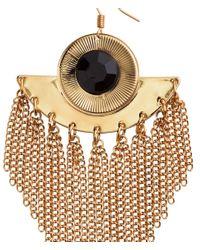 H&M | Metallic Long Earrings | Lyst