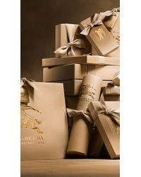 Burberry - Pink Leather Trim Cotton Gabardine Trench Coat Pale Mauve - Lyst