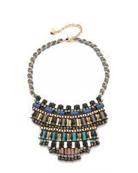 Nocturne | Multicolor Jez Necklace - Neutral Multi | Lyst