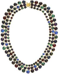 Erickson Beamon | Multicolor Hyperdrive Necklace | Lyst