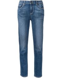 PAIGE | Blue Porter Boyfriend Stretch-Denim Jeans | Lyst