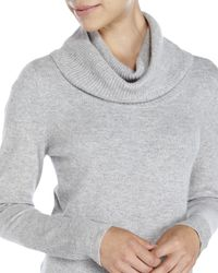 Magaschoni - Gray Cowl Neck Cashmere Sweater - Lyst