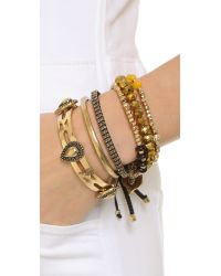 Samantha Wills - Metallic Midnight Rendezvous Bracelet Set - Shiny Gold - Lyst