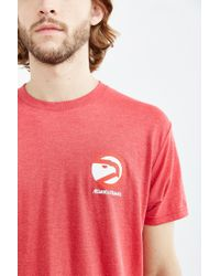 Urban Outfitters - Red Atlanta Hawks Tee for Men - Lyst
